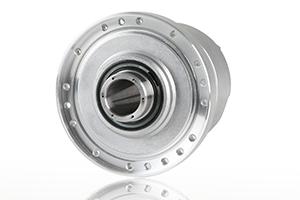 Direct drive hollow shaft servo motor harmonic drive for Direct drive servo motor